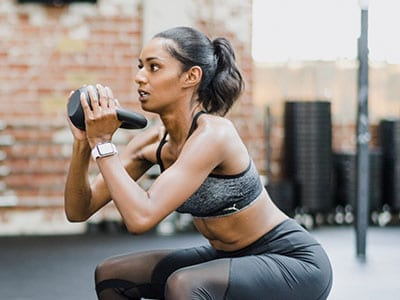Personal Fit Plan Kettle Bell Front Squat